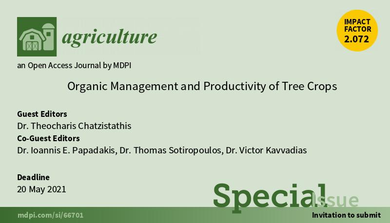 Συμμετοχή του Τ.Φ.Ο.Δ.Ν. στη δημιουργία ειδικού τεύχους του περιοδικού 'Agriculture'